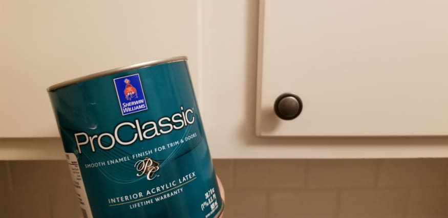 How I updated my old kitchen cabinets for less than $50