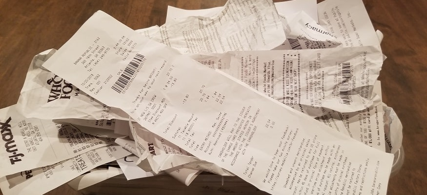 Receipt Trick: How I Saved an Extra $2,000 in 52 Weeks
