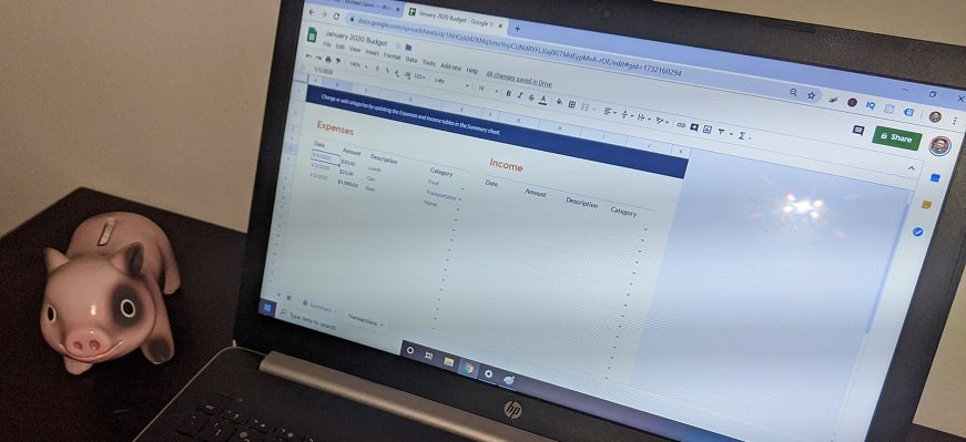 How to Make a Simple Budget Using Google Sheets in 5 Minutes