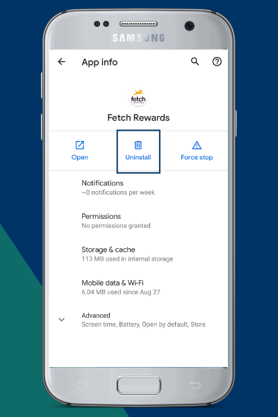 Uninstall and Reinstall the Fetch App